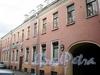 Друскеникский пер., д. 4. Флигель доходного дома Яковлевых. Фасад здания. Фото сентябрь 2009 г.