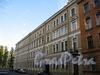Дровяной пер., д. 9 / пр. Римского-Корсакова, д. 79-81. Фасад по переулку. Фото август 2009 г.