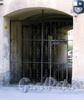 Дровяной пер., д. 20. Решетка ворот. Фото август 2009 г.