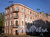 Транспортный пер., д. 6 / ул. Черняховского, д. 57. Бывший доходный дом. Общий вид здания. Фото октябрь 2009 г.