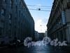 Перспектива Кирпичного переулка от набережной Мойки в сторону Мал. Морской улицы. Фото октябрь 2009 г.