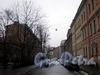 Перспектива переулка Матвеева от набережной Мойки в сторону улицы Декабристов. Фото март 2009 г.