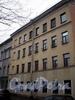 Пер. Матвеева, д. 1 / наб. реки Мойки, д. 104. Бывший доходный дом. Фасад здания по переулку. Фото март 2009 г.