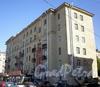 Пер. Матюшенко, д. 8 / ул. Бабушкина, д. 71. Фасад жилого дома по переулку. Фото август 2009 г.