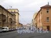 Перспектива Никольского переулка от набережной реки Фонтанки в сторону Садовой улицы. Фото апрель 2009 г.