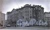 Фонарный пер., д. 18 / наб. канала Грибоедова, д. 83. Доходный дом В. П. Лихачева. Общий вид здания. Фото 1998 г. (из книги «Историческая застройка Санкт-Петербурга»)