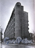 Пер. Матвеева, д. 2. Жилой дом работников Союзверфи. Общий вид здания. Фото 1998 г. (из книги «Историческая застройка Санкт-Петербурга»)