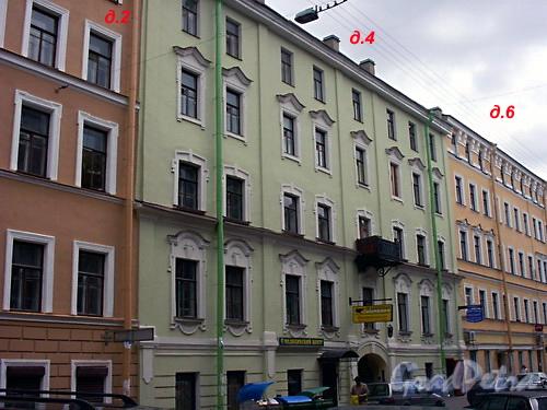 Дома 2-4 по Спасскому пер.