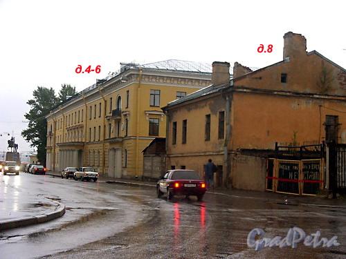 Дома 4-8 по Чернорецкому пер.