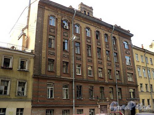 Бол. Казачий пер., д. 5. Фасад здания. Фото май 2010 г.