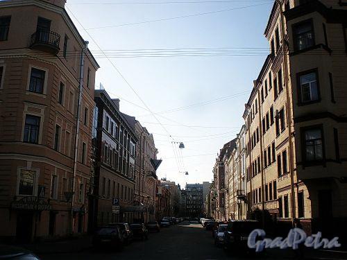 Перспектива Гродненского переулка от улицы Радищева. Фото апрель 2010 г.