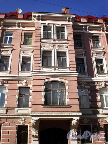 Гродненский пер., д. 14. Эркер. Фото апрель 2010 г.