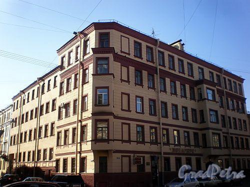 Гродненский пер., д. 20 / ул. Радищева, д. 38. Общий вид. Фото апрель 2010 г.