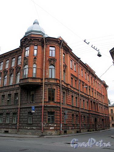 Соляной пер., д. 2 / ул. Чайковского, д. 3. Фасад по Соляному переулку. Фото сентябрь 2010 г.