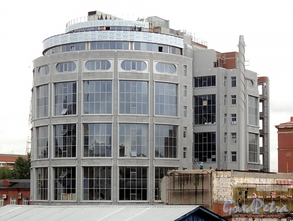Певческий пер., д. 12. Вид от Малой Монетной улицы. Фото август 2011 г.
