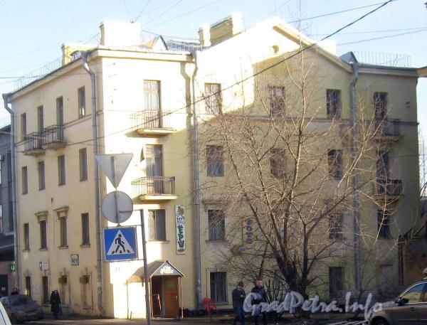 Огородный переулок, дом 21. Общий вид с ул. Маршала Говорова. Фото март 2012 г.
