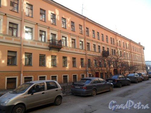 Климов переулок, дом 8. Фото 21 апреля 2013 г.