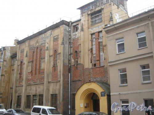 Транспортный пер., дом 5. Общий вид со стороны фасада. Фото 10 июня 2013 г.