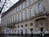 Пл. Островского, д. 2 А. Здание гостиницы. Фасад со стороны сада Аничкова Дворца. Фото декабрь 2009 г.