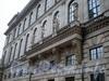 Пл. Островского, д. 2 А. Здание гостиницы. Балкон со стороны сада Аничкова Дворца. Фото декабрь 2009 г.