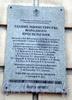 Пл. Островского, д. 11. Здание Министерства народного просвещения. Охранная доска. Фото декабрь 2009 г.