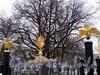 Преображенская пл., д. 1. Спасо-Преображенский собор. Элементы ограды. Фото февраль 2010 г.