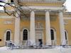 Преображенская пл., д. 1. Спасо-Преображенский собор. Центральный вход. Фото февраль 2010 г.