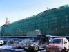 Конюшенная пл., д. 2 (средняя часть). Здание бывшего Конюшенного музея. Реставрация. Фото март 2010 г.