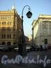 Фонарь перед Александринским театром.