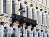 Исаакиевская пл., д. 13. Фрагмент фасада с балконом. Фото июнь 2010 г.