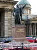 Памятник М.И. Кутузову на Казанской площади у Казанского собора. Фото август 2010 г.