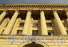 Троицкая пл., д. 3. Колоннада. Фото октябрь 2010 г.