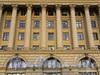 Троицкая пл., д. 3. Фрагмент фасада. Фото октябрь 2010 г.