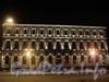 Исаакиевская площадь, дом 13, Ночное оформление фасада. Фото январь 2011 г.