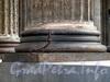 Казанская пл., д. 2. Казанский собор. Основание одной из колонн колоннады Казанского собора. Фото август 2010 г.