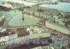 Панорама Дворцовой площади. Фотограф В. Барановский, худ. А. Веселов (комплект открыток «Историко-архитектурные памятники Санкт-Петербурга»)