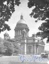 Исаакиевская пл., дом 4. Здание музея «Исаакиевский собор». Фотоальбом «Ленинград», 1959 г.