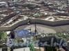 Вид на Дворцовую площадь с вертолёта. 2007 г.