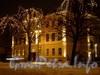 Ночная подсветка здания Английского консульства. Фото декабрь 2008 г.