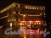 пл. Стачек, д. 5. Ночное оформление здания. Январь 2009 г.