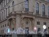 пл. Островского, д. 2 А. Здание гостиницы. Фрагмент фасада здания. Фото декабрь 2008 г.