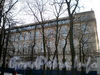 пл. Островского, д. 2 А. Здание строящейся гостиницы. Фасад здания со стороны сада Аничкова Дворца. Фото 2009 г.
