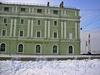 Суворовская пл., д. 1. Служебный корпус Мраморного дворца. Ресторан-кафе «La Fondue». Фото январь 2006 г.