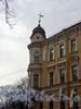 Румянцевская пл., д. 3. Доходный дом А. Ф. Девриена. Угловой эркер с башней.