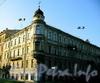 Румянцевская пл., д. 3 / 2-я линия В.О., д. 1. Доходный дом А. Ф. Девриена. Общий вид здания. Фото июль 2009 г.