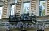 Румянцевская пл., д. 3. Доходный дом А. Ф. Девриена. Балкон. Фото июль 2009 г.