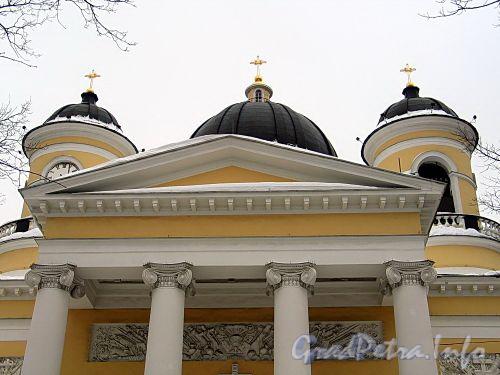 Преображенская пл., д. 1. Спасо-Преображенский собор. Фото февраль 2010 г.