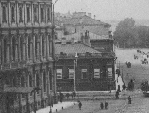 Исаакиевская пл., дом 11. Фото 1890-ых годов.