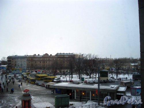 Площадь Балтийского вокзала. Общий вид. Фото 11 марта 2013 г.