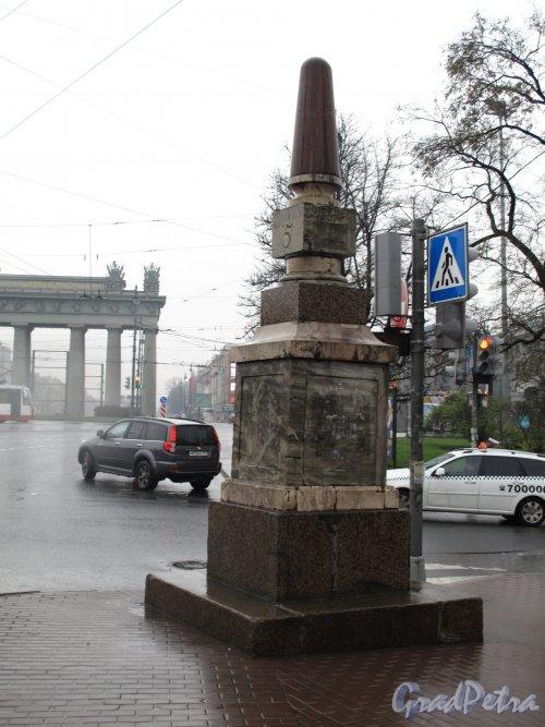 Московских ворот Пл. Верстовой столб на Московской заставе